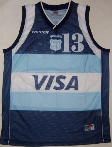 Argentina  Athens 2004 olympics second jersey