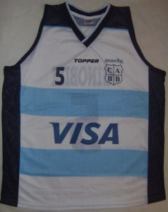 Argentina 2004 Athens olympic games first kit