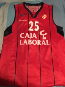 Baskonia Vitoria 2012 – 2013 Euroleague home kit
