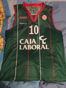 Baskonia Vitoria 2012 – 2013 green kit