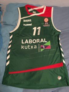Baskonia Vitoria 2015 – 2016 green kit