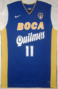 Boca Juniors Unknown Home kit
