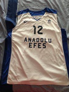 Anadolu Efes 2013 – 2014 away kit