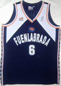 Baloncesto Fuenlabrada  1999-2000 home jersey
