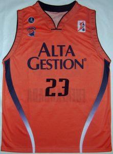 Alta Gestión Fuenlabrada 2005 -06 Home kit