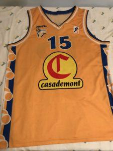 Casademont Girona 2001 – 2002 away kit