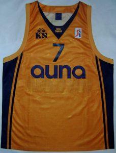 auna Gran Canaria 2002 – 2003 Home kit