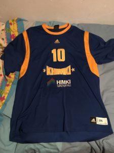 Khimki BC 2014 – 2015 kit warmup shirt