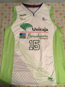Unicaja Malaga 2013 – 2014 away kit