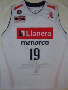 Llanera Menorca Bàsquet Unknown Home kit