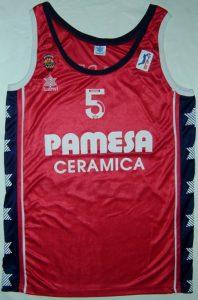 Pamesa Valencia Basket 2000 – 2001 Home kit