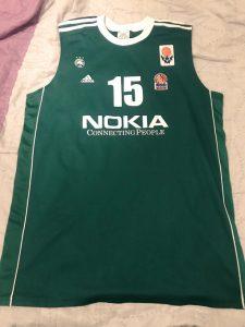 Panathinaikos  2004 – 2005 Home kit