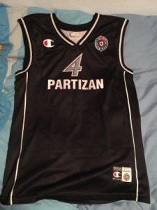 Partizan Belgrade 2003-04 Home kit