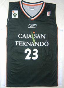 Caja San Fernando Sevilla 2004-05 jersey
