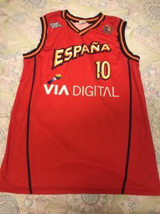 Spain 1999 – 2000 Home kit eurobasket 99