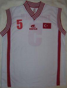 Turkey Unknown away jersey