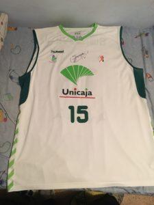 Unicaja Malaga 2009 – 2010 away kit