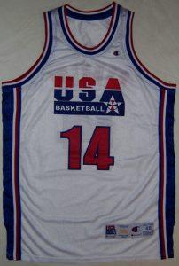 USA 1992 Barcelona Olympics home jersey