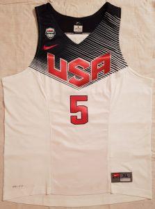 USA 2014 FIBA basketball world cup home kit