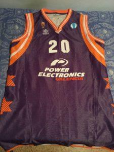 Valencia Basket  2009 – 2010 purple kit eurocup final