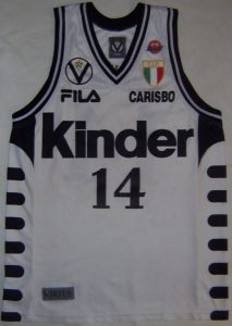 KINDER Bologna 1998-99 Home kit