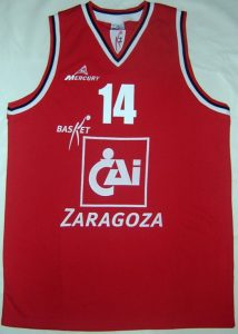 Zaragoza Basket Unknown Home kit