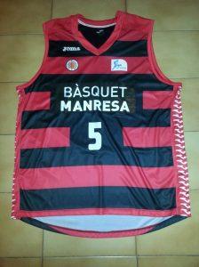 Bàsquet Manresa  2012-13 kit