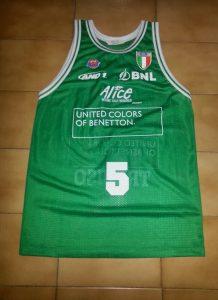 Bennetton Treviso 2003-04 Home kit