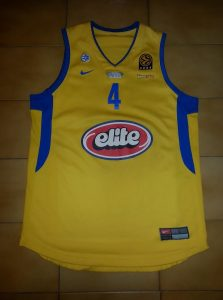 Maccabi Elite Tel Aviv 2005-06 Home kit
