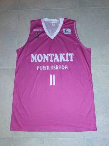 MONTAKIT Fuenlabrada  2016-17 away kit