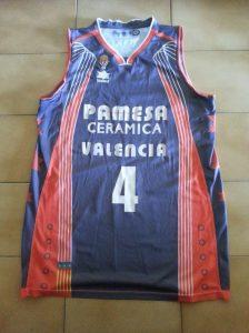 PAMESA Valencia Basket 2008 – 2009 away grey kit