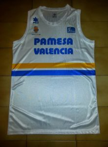 Valencia Basket 2012-13  tribute 87-88 jersey