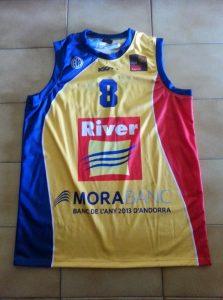 River Andorra Bàsquet 2013 – 2014 Home kit