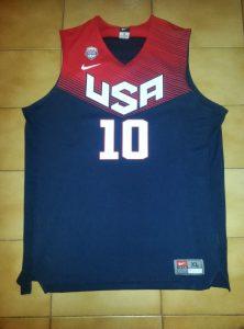 USA 2014 FIBA world cup away kit