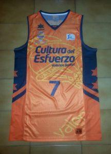 Valencia Basket 2013 – 2014 Home kit