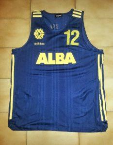 Alba Berlin 1996-97 away kit