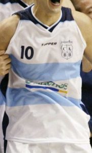Argentina 2002 FIBA world cup first kit