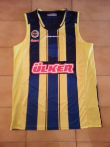 ÜLKER Fenerbahçe basketball 2012 – 2013 Home kit