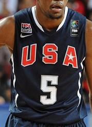 USA 2010 FIBA world cup away kit