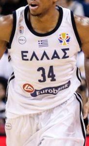 Greece 2019 FIBA world cup home kit