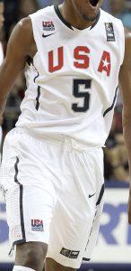 USA  2010 FIBA world cup Home kit