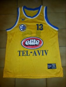 Maccabi Tel Aviv 2000 – 2001 Home kit