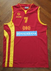 Macedonia 2012 olympics qualifying away kit