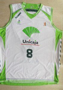 Unicaja Malaga 2010-11 away kit