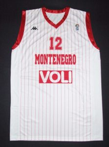 Montenegro 2011 Eurobasket second kit