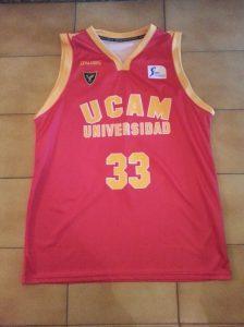 UCAM Murcia 2013-14 Home kit