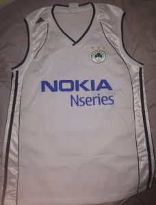 Panathinaikos 2006-07 away kit