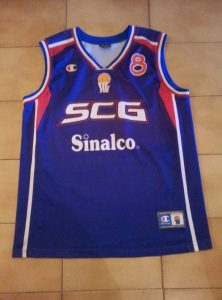Serbia and Montenegro 2003 Home kit