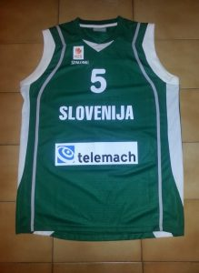 Slovenia Home kit eurobasket 2011