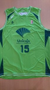 UNICAJA Malaga Baloncesto 2010-11 third kit